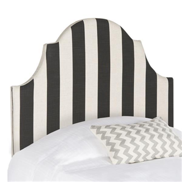 Safavieh Hallmar 4.5-ft x 3.4-ft Awning Stripe Arched Twin Headboard