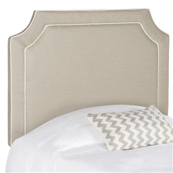 Safavieh MCR4 Dane Piping Headboard,MCR4032D