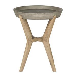 Safavieh Celeste 21.2-in Grey End Table