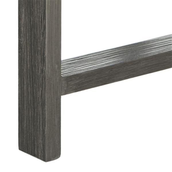 Safavieh FOX4231A Cursten Retro Mid Century Wood Tray Top Co