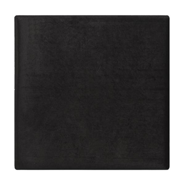 Safavieh Rowan Contemporary 20.00-in x 21.00-in Black Velvet Ottoman