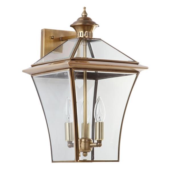 Safavieh Virginia 17.75-in Chrome Triple Light Sconce