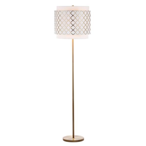 Safavieh 61.5-in Gold Priscilla Floor Lamp