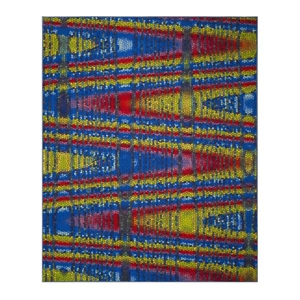 Safavieh Aztec Blue and Multicolor Indoor Area Rug,AZT203C-8