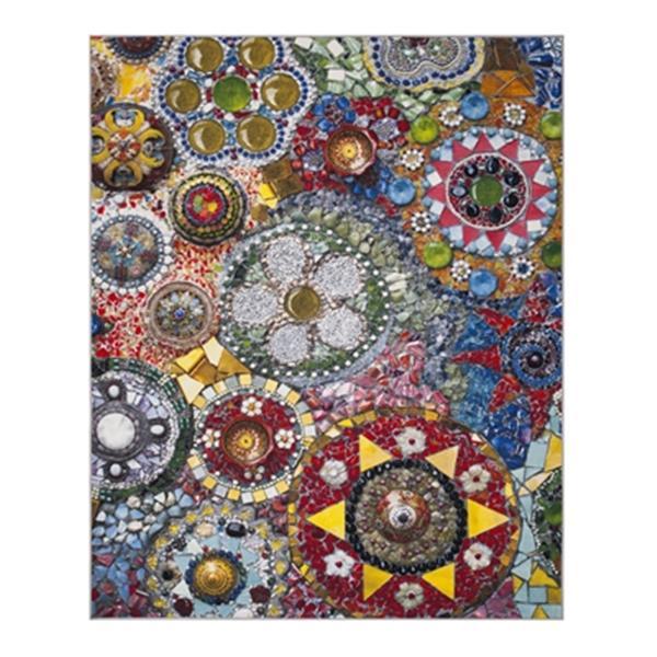 Safavieh Aztec Green and Multicolor Indoor Area Rug,AZT204D-