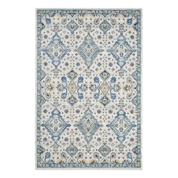 Safavieh Evoke Ivory and Light Blue Indoor Area Rug,EVK224C-