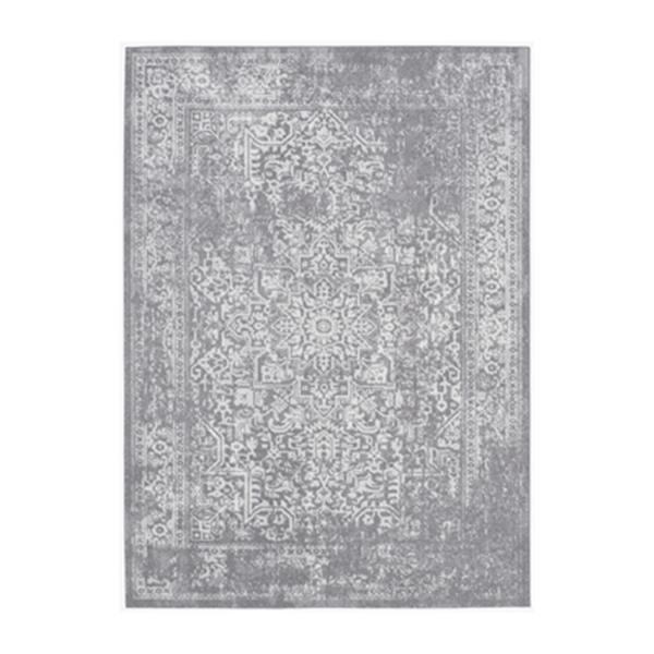 Safavieh Evoke Silver and Ivory Indoor Area Rug,EVK256S-6
