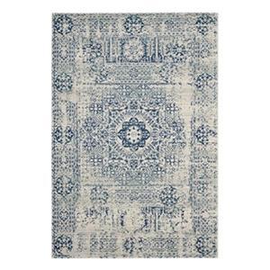 Safavieh Evoke Ivory and Blue Indoor Area Rug,EVK260C-6