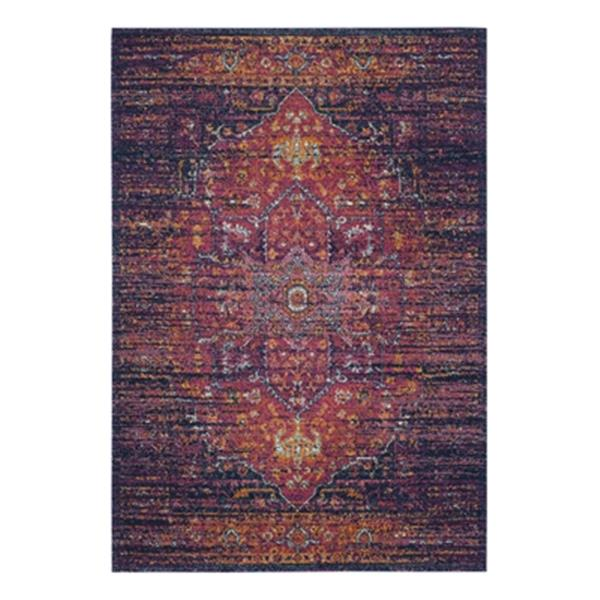Safavieh Evoke Blue and Fuchsia Indoor Area Rug,EVK275F-6