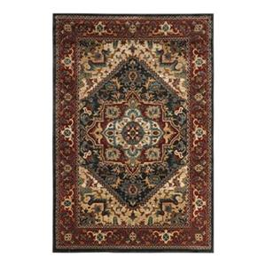 Safavieh Summit Dark Grey and Red Indoor Area Rug,SMT293A-8