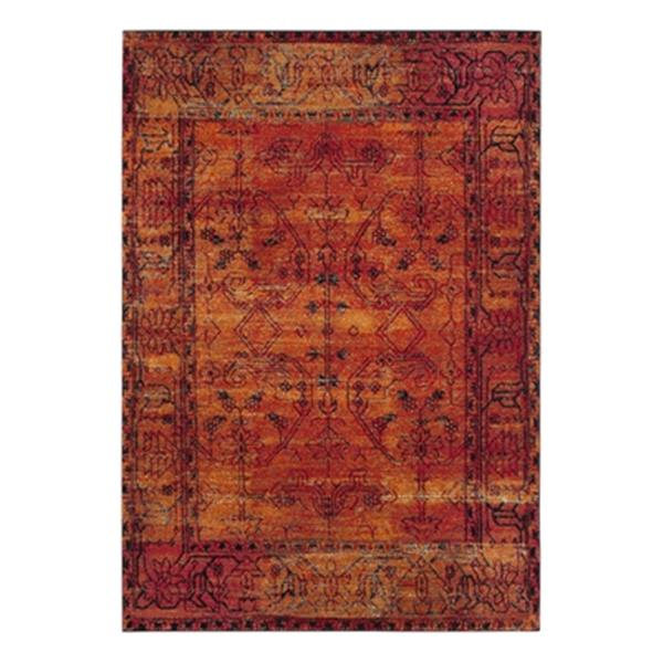 Safavieh Vintage Hamadan Orange Indoor Area Rug,VTH216C-6
