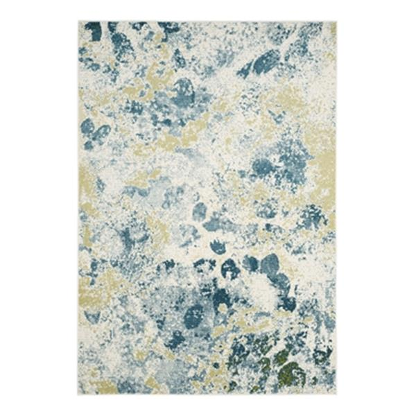 Safavieh Watercolor Ivory and Light Blue Indoor Area Rug,WTC