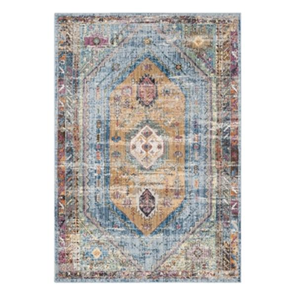 Safavieh Bristol Blue and Camel Area Rug,BTL346C-5