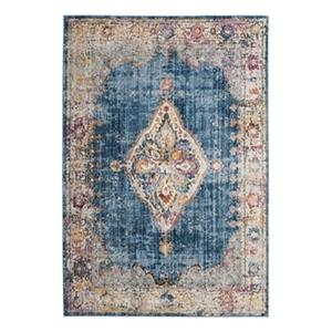 Safavieh Bristol Blue and Ivory Area Rug,BTL348C-5
