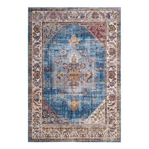 Safavieh Bristol Blue and Ivory Area Rug,BTL349C-5
