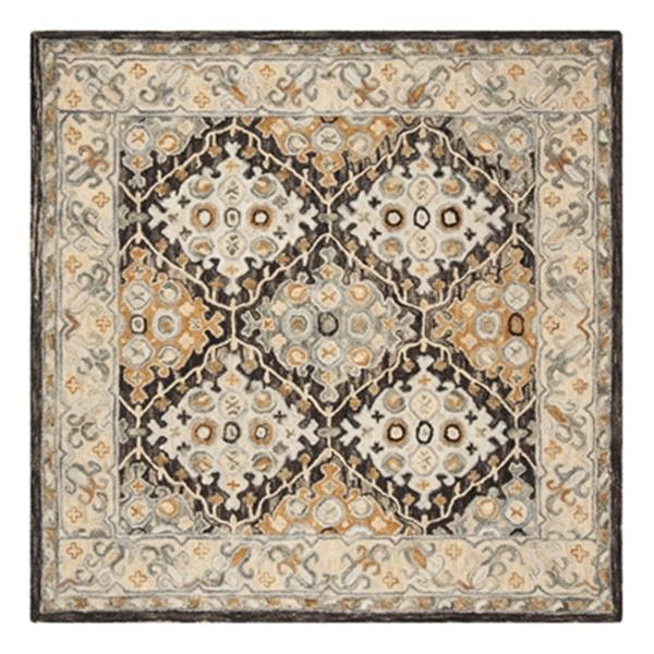 Safavieh Aspen Beige and Brown Hand Tufted Area Rug,APN304A-