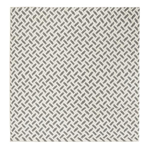 Safavieh Natura Grey and Ivory Diagonal Lines Hand Tufted Ar