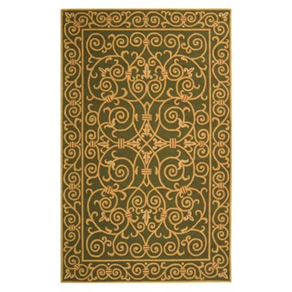 Safavieh Chelsea Area Rug, Brown,HK11B-5