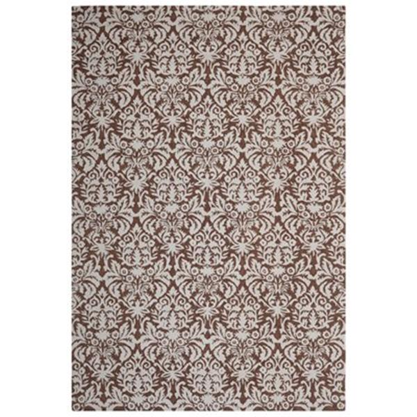 Safavieh Chelsea Brown and Grey Area Rug,HK368B-5