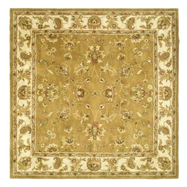 Safavieh Heritage Mocha and Ivory Area Rug,HG816A-6SQ