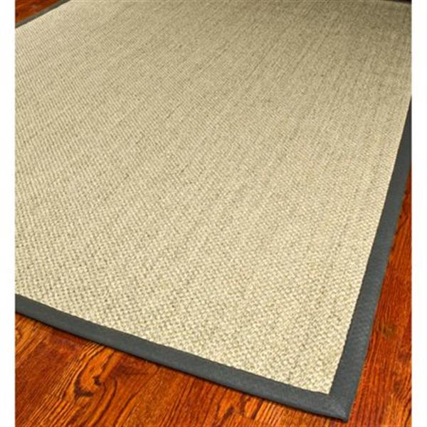 Safavieh Natural Fiber Marble and Grey Area Rug,NF443B-6