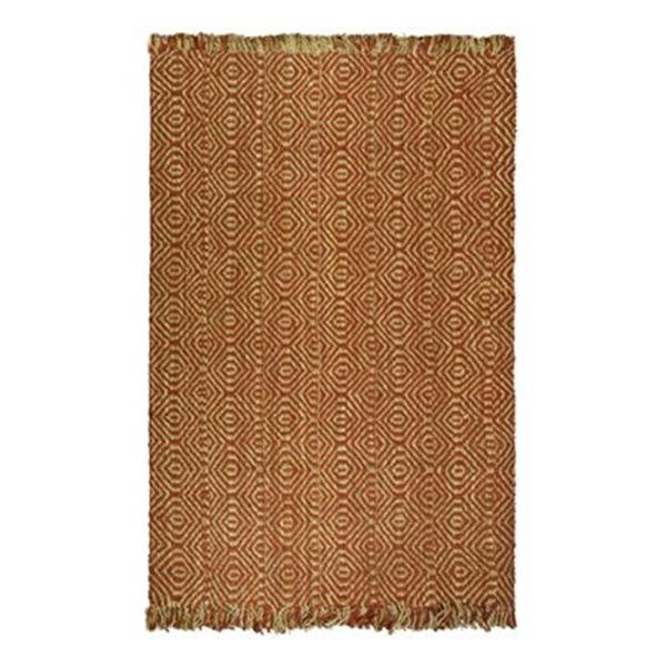 Safavieh Natural Fiber Rust Area Rug,NF445A-6