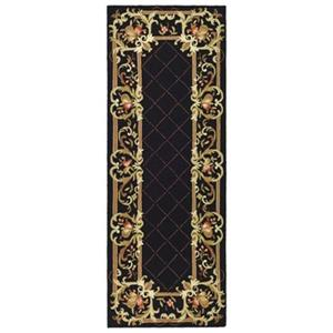 Safavieh Chelsea 36-in. Black/Gold Runner