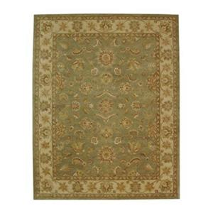 Safavieh Antiquity Green and Gold Area Rug,AT313A-6R