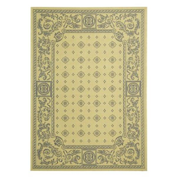Safavieh CY1356-3101 Courtyard Indoor/Outdoor Area Rug, Natu
