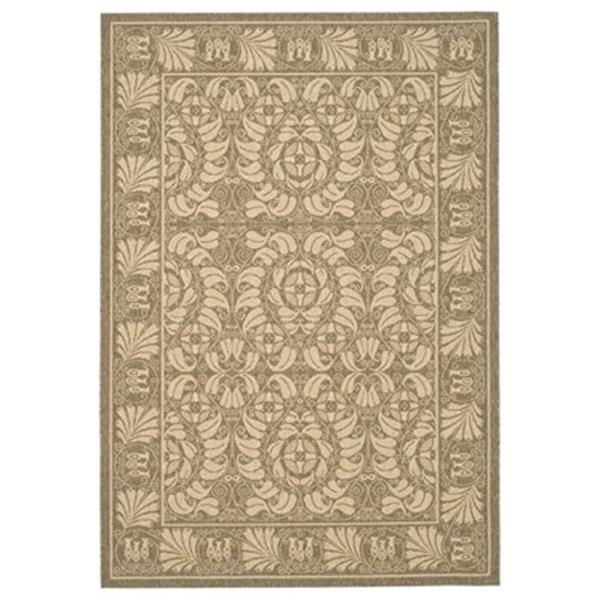 Safavieh Courtyard11 ft x 8 ft Tan Indoor/Outdoor Area Rug