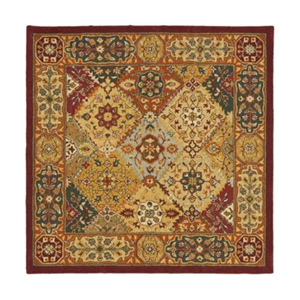 Safavieh HG512A Heritage Area Rug,HG512A-6SQ