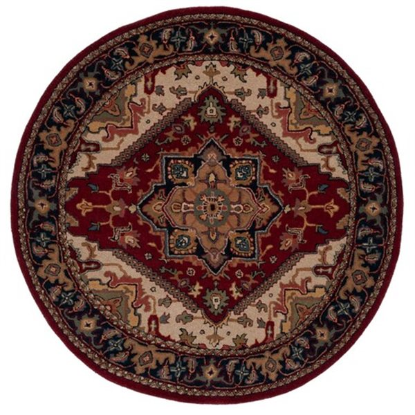 Safavieh Heritage Red Area Rug,HG625A-6R