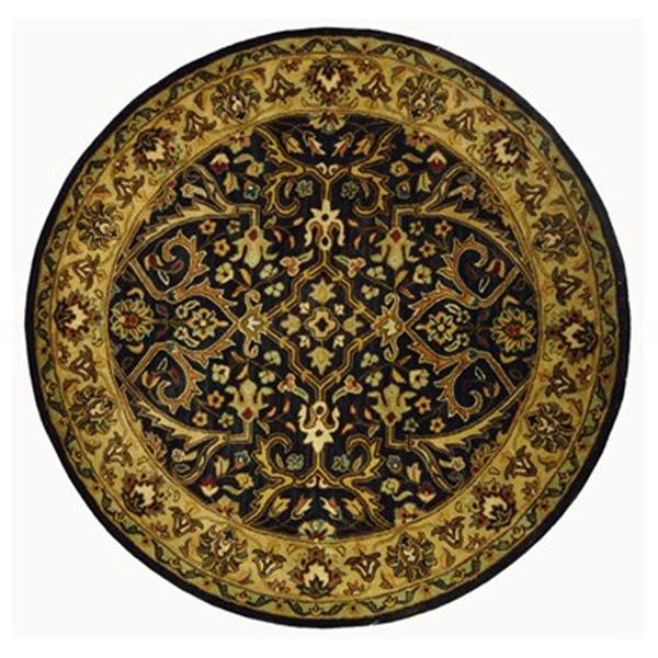Safavieh HG644A Heritage Area Rug, Charcoal,HG644A-6R