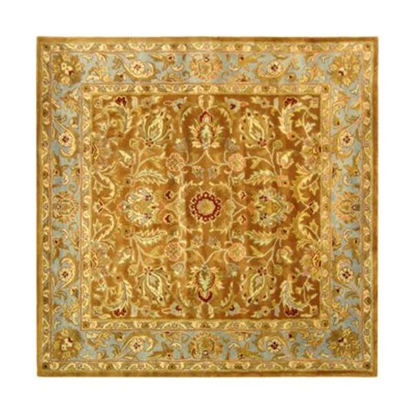 Safavieh HG812A Heritage Area Rug, Brown,HG812A-6SQ