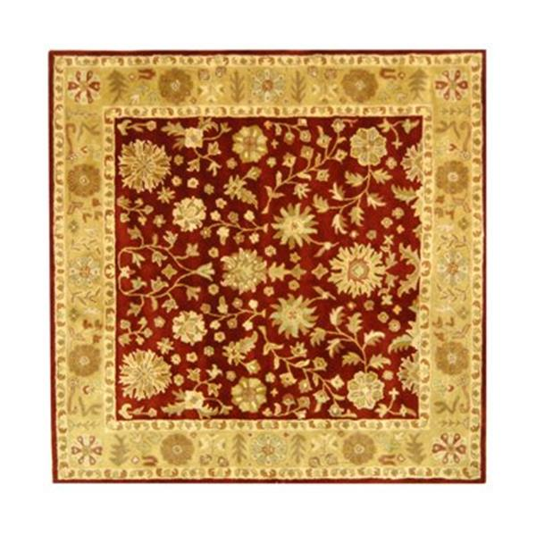 Safavieh Heritage Red Area Rug,HG813A-6SQ