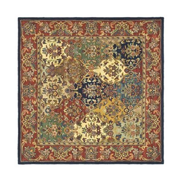 Safavieh Heritage Multi-Colored Area Rug,HG911A-6SQ