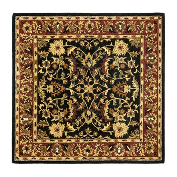 Safavieh Heritage Black Area Rug,HG953A-6SQ