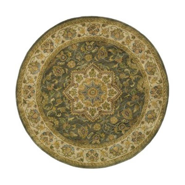 Safavieh HG954A Heritage Area Rug, Green,HG954A-6R