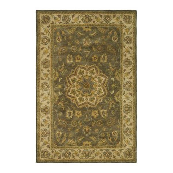 Safavieh HG954A Heritage Area Rug, Green,HG954A-6SQ