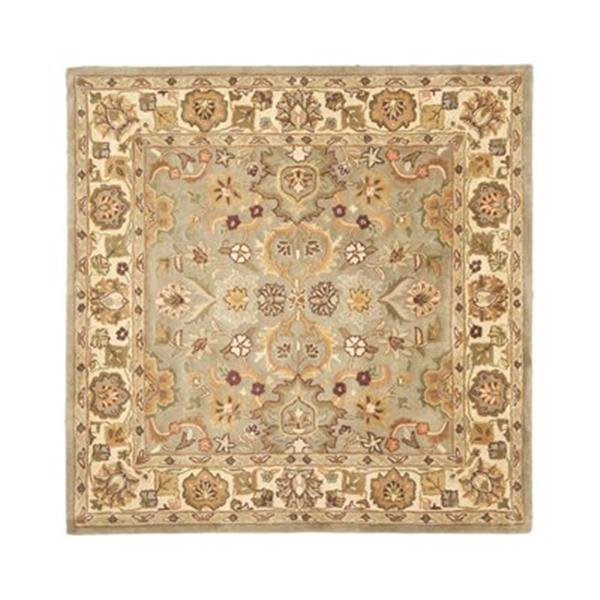 Safavieh HG959A Heritage Area Rug, Light Green,HG959A-6SQ