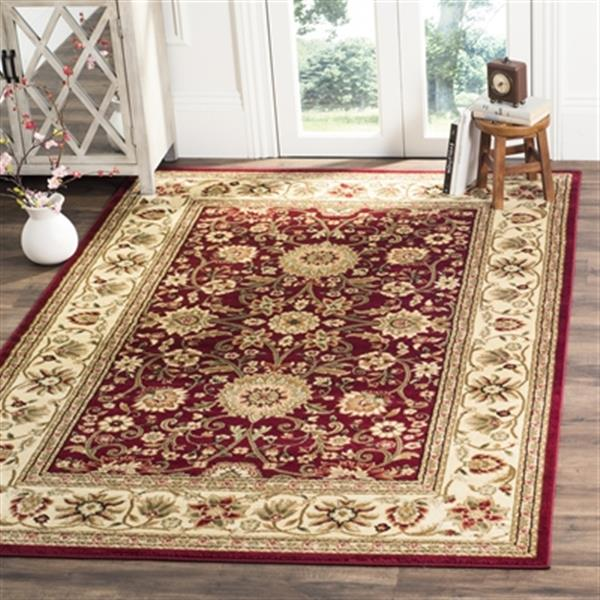 Safavieh Lyndhurst Red and Ivory Area Rug,LNH212F-6