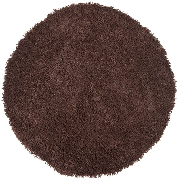 Safavieh Shag Chocolate Area Rug,SG240E-6R