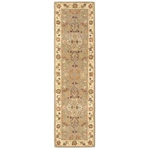 Safavieh Heritage 27-in. Light Green/Beige Runner