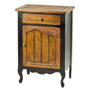 Safavieh Logan Oak/Java Cabinet