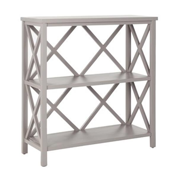 Safavieh Liam American Home Grey Open Bookcase