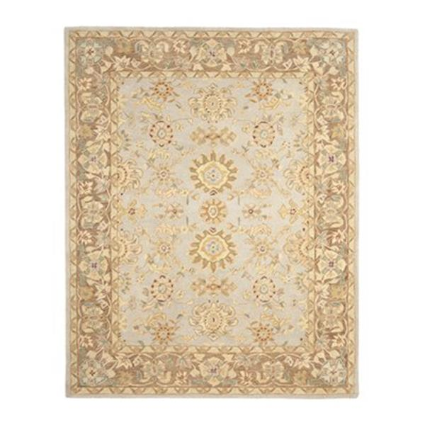 Safavieh AN557A Anatolia Area Rug, Teal/Brown,AN557A-214