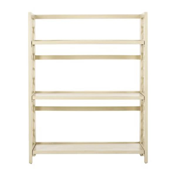 Safavieh American Home Antique White Natalie Low Bookcase