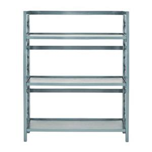 Safavieh American Home Teal Natalie Low Bookcase