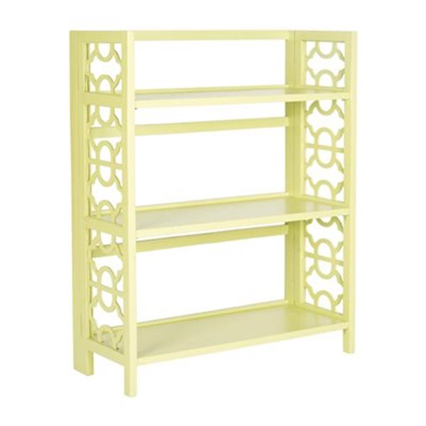 Safavieh American Home Avocado Green Natalie Low Bookcase