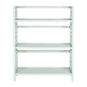 Safavieh American Home Aqua Smoke Natalie Low Bookcase